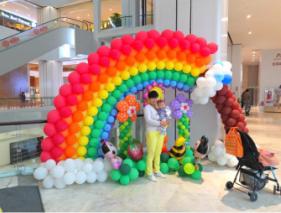 优拓邦缤纷气球展盛大开
